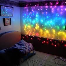 verbinden 2 mt regenbogen led vorhang eiszapfen lichterketten led lichterkette weihnachten len eiszapfen lichter weihnachten hochzeit