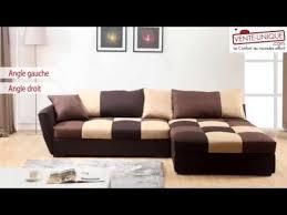 canap d angle design tissu canapé d angle convertible en tissu romane