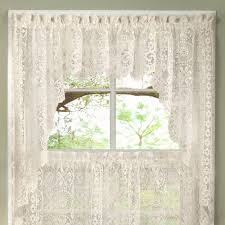 White Kitchen Curtains Valances by N Luxurious Old World Style Lace Kitchen Curtains Tiers And