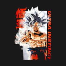 Goku Ultra Instinct T Shirt