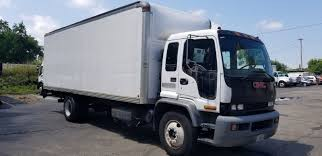 2001 GMC T6500 24ft Box Truck Tuck Under Lift Gate - For Parts Or ... 2015 Used Hino 268 25950lb Gvwr Under Cdl24ft Box Liftgate At 2018 Isuzu Nprhd 16 Ft Van Truck For Sale 589521 Trucks 2001 Intertional 4700 Box Truck 22ft Power Lift Gate Diesel Liftgates Nichols Fleet Penske Rental Intertional 4300 Morgan With For Sale In Wisconsin Commercial Straight For Sale On Van Trucks N Trailer Magazine Arizona Sales Llc F Series Ftr 26 Box And Liftgate Dock High Dovell