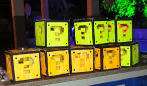 Mario Bros Question Block Lamp by Super Mario Mystery Block Lamp In Cardboard 5 Steps