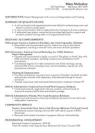 Resume Examples For Career Change Objective