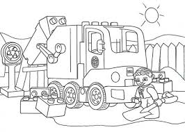 How To Draw Lego Duplo Coloring Pages