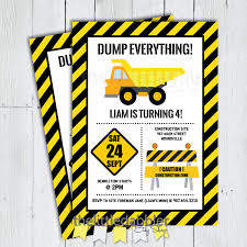 Printable Construction Dump Truck Birthday Invitation | Etsy Printable Cstruction Dump Truck Birthday Invitation Etsy Pals Party Cake Ideas Supplies Janet Flickr Shirt Boy Pink The Cat Cakes Cupcakes With Free S36 Youtube 11 Diggers And Trucks Or Photo Tonka Luxury Smash First Invitations Aw07 Advancedmasgebysara