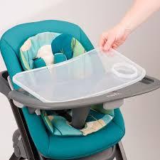 Evenflo Quatore 4 In 1 High Chair - Deep Lake - Evenflo - Babies