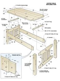 plans coffee table use a free coffee table plan to build one for