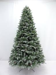 8FT Home Decoration Artificial Christmas Flocked PVC Gift Tree