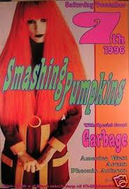 Smashing Pumpkins Setlist 1996 by 107 Best Smashing Pumpkins Concert Posters T Shirts Etc Images