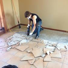 removing tile from concrete floor diy projects for connor