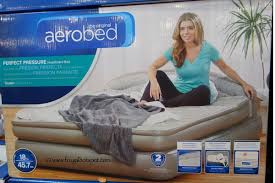 Aerobed Queen With Headboard by Costco Sale Aerobed Queen Airbed With Headboard 99 99 Frugal