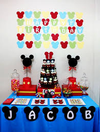 finest mickey mouse party decorations ideas