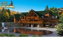 Large Log Cabin Floor Plans Photo by Golden Eagle Log And Timber Homes Floor Plan Details Log Mansion