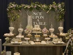 Food Bar Ideas Rustic Desserts Wedding Decor