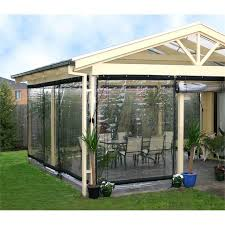 Smart Home Products 240 X 240cm Clear PVC Outdoor Bistro Blind I N 1285847