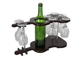 100 Glass Racks For Trucks Wine Bodies Guitar Shaped Wooden Holder Display 1 Bottle