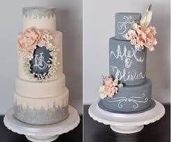 Chalkboard Wedding Cakes By The Sophie Bifield Cake Company As Featured On Geek Magazine Online