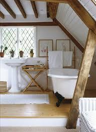 Interessane Gestaltung Eingelassene Badewanne Hölzerne Bretter Badewanne Unter Dachschräge 22 Süße Modelle Archzine