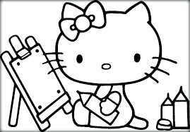 Hello Kitty Coloring Pages Free To Print Drawing Sheets Printable For Children Color