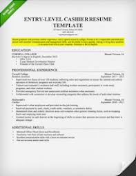 Example Resume Objective For Retail