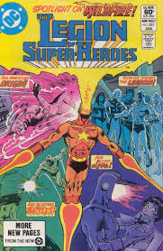 The Legion Of Super Heroes 283 January 1982 Cover By Jim Aparo