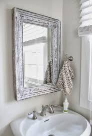 White Shabby Chic Bathroom Ideas by Modern Shabby Chic Bathroom Curved Brown Wooden Bath Vanity