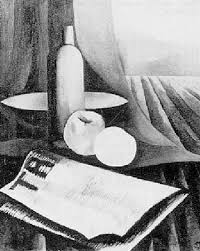 Still Life With Tribune The Communist Newspaper By Charley Toorop