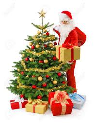 Fiber Optic Christmas Trees At Kmart by Santa Christmas Tree Christmas Lights Decoration