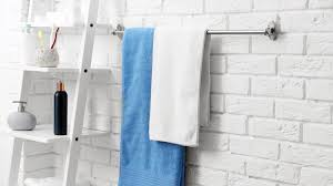 11 Towel Rack Ideas For Your Bathroom   Robe Mart Bathroom Cabinet With Towel Rod Inspirational Magnificent Various Towel Bar Rack Design Ideas Home 7 Ways To Add Storage A Small Thats Pretty Too Bathroom Bar Ideas Get Such An Accent Look Awesome 50 Graph Foothillfolk Archauteonluscom Modern Bars Top 10 Most Popular Rail And Get Free For Bathrooms Fancy Decorative Brushed Nickel Racks And Strethemovienet