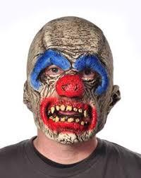 Purge Mask Halloween Spirit by Grinning Clown Mask U2013 Spirit Halloween Evil Pins Pinterest