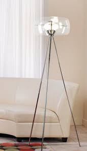 Floor Lamp Glass Shade by Three For Thursday Tripod Floor Lamps Lamps Plus