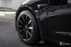 100 Black Rims For Trucks 18 TST Flow Ged Tesla Wheel Set Of 4 Model 3 TSportline