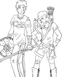 Percy Jackson Coloring Pages Epic 72 With Additional Free Book