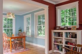 Milliken Millwork for a Transitional Dining Room with a Windows