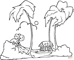 Click The Hawaii Beaches Coloring Pages