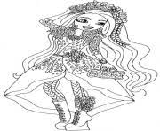 Printable Spring Unsprung Holly O Hair Ever After High Coloring Pages