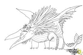 How To Draw Bewilderbeast From Train Your Dragon 2 Drawingnow