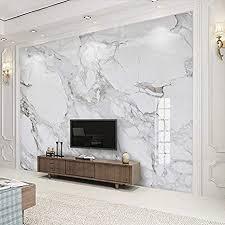 benutzerdefinierte wandbild tapete 3d jazz weiß marmor