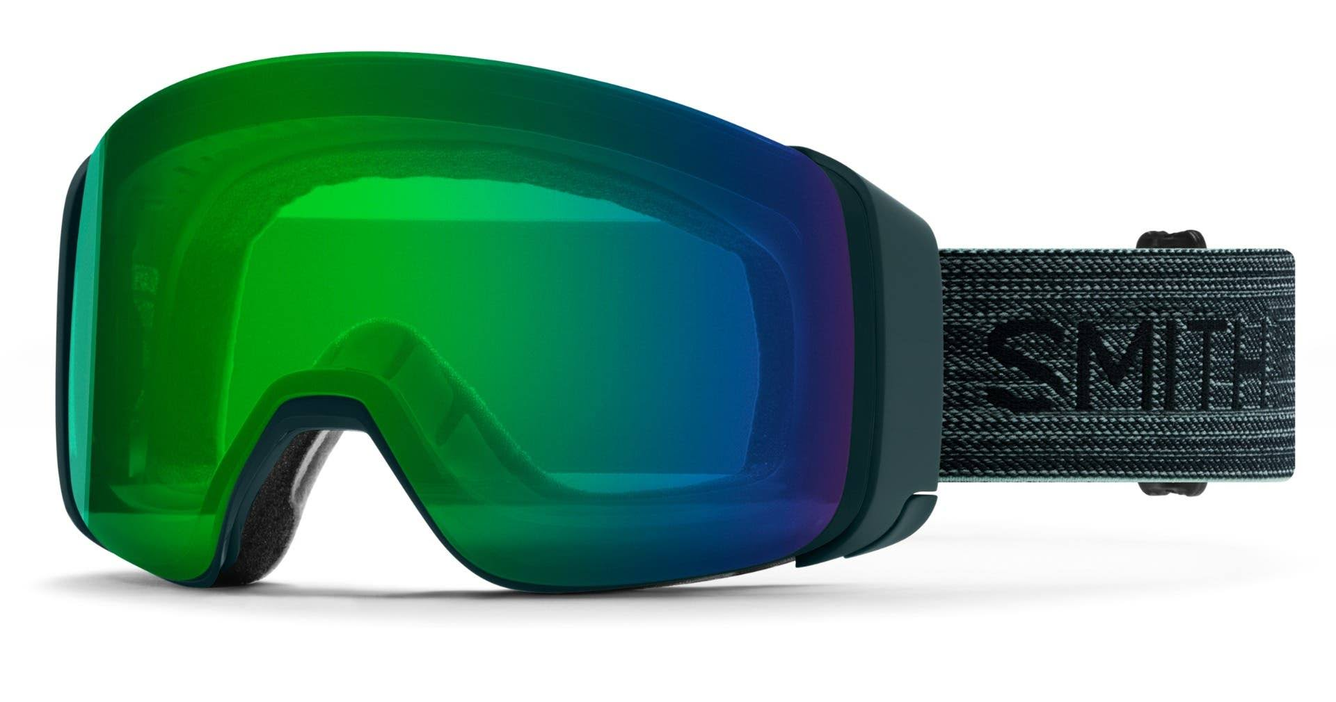 Smith 4D Mag Snowboard Goggles - Deep Forest/Chromapop Green