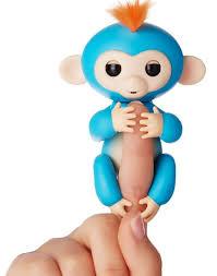 Boris Blue Fingerlings Baby Monkey With Orange Hair Buy It Here For 15