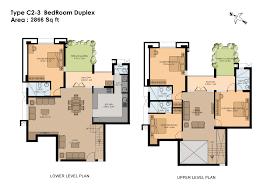 Images Duplex Housing Plans by 4 Bedroom Duplex Floor Plans In Nigeria Memsaheb Net