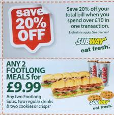Tips For Saving With Coupons And Vouchers - Money Saving Blog - Mrs ... Subway Singapore Guest Appreciation Day Buy 1 Get Free Promotion 2 Coupon Print Whosale Coupons Metro Sushi Deals San Diego Coupons On Phone Online Sale Dominos 1for1 Pizza And Other Promotions Aug 2019 Subway Usa Banners May 25 Off Quip Coupon Codes Top August Deals Redskins Joann Fabrics Text Canada December 2018 Michaels Naimo Deal Hungry Jacks Vouchers Valid Until Frugal Feeds Free 6 Sub With 30oz Drink Purchase Sign Up For