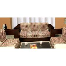 3 Seat Sofa Cover by Expressions 6 Pc Sofa U0026 Chair Cover Set Sofa Cover Sets Homeshop18