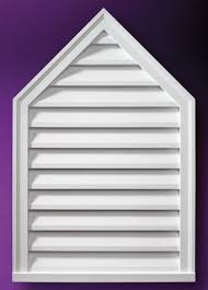 Decorative Gable Vents Products by Fypon Peaked Louvers And Gable Vents Accent Building Products