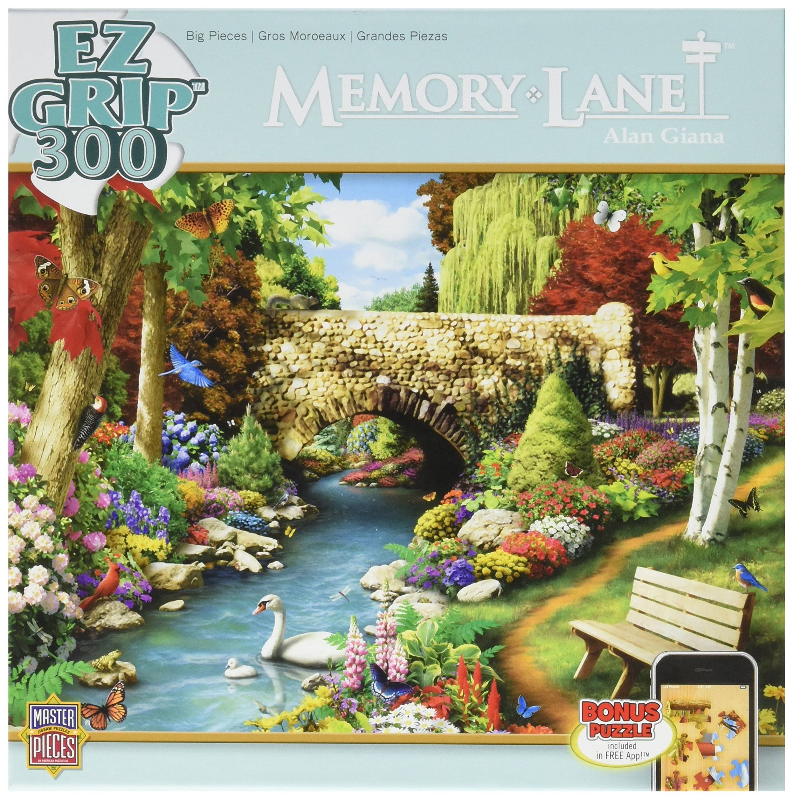Master Pieces Memory Lane Willow Whispers Alan Giana Jigsaw Puzzle - 300pcs