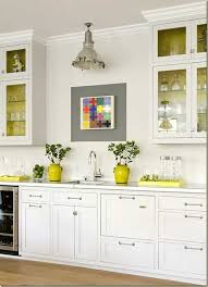 Naples Yellow Color Grey And Kitchen Decor