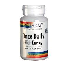 Solaray ce Daily High Energy 30 Caps eVitamins