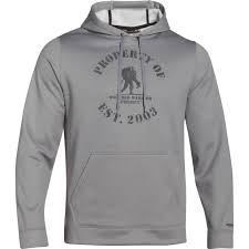 under armour ua storm wounded warrior project property of hoodie