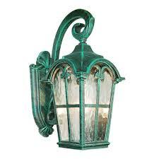 golden black die cast aluminum outdoor wall light lantern w deluxe