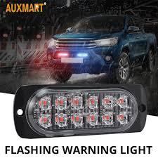 100 Running Lights For Trucks Axmart 12v Strobe Car Warning Light Truck LED Bar Daytime